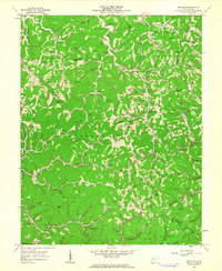 Download a high-resolution, GPS-compatible USGS topo map for Nestlow, WV (1963 edition)