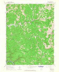 Download a high-resolution, GPS-compatible USGS topo map for Newton, WV (1968 edition)