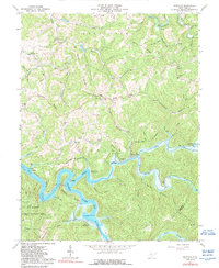 Download a high-resolution, GPS-compatible USGS topo map for Newville, WV (1989 edition)