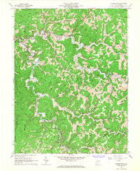 Download a high-resolution, GPS-compatible USGS topo map for Normantown, WV (1967 edition)