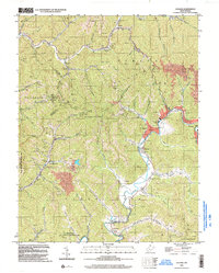 Download a high-resolution, GPS-compatible USGS topo map for Oceana, WV (2003 edition)
