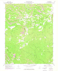 Download a high-resolution, GPS-compatible USGS topo map for Odd, WV (1977 edition)