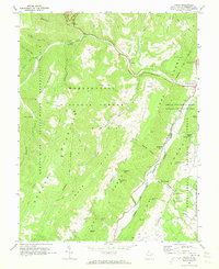 Download a high-resolution, GPS-compatible USGS topo map for Onego, WV (1973 edition)