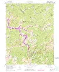 Download a high-resolution, GPS-compatible USGS topo map for Orlando, WV (1989 edition)
