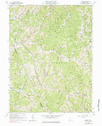 Download a high-resolution, GPS-compatible USGS topo map for Oxford, WV (1984 edition)