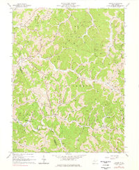 Download a high-resolution, GPS-compatible USGS topo map for Oxford, WV (1978 edition)