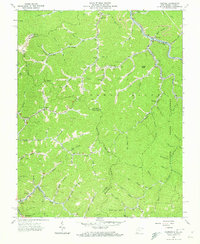 Download a high-resolution, GPS-compatible USGS topo map for Panther, WV (1973 edition)