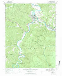 Download a high-resolution, GPS-compatible USGS topo map for Parsons, WV (1984 edition)