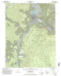 Download a high-resolution, GPS-compatible USGS topo map for Parsons, WV (1998 edition)