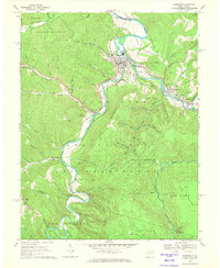 Download a high-resolution, GPS-compatible USGS topo map for Parsons, WV (1971 edition)