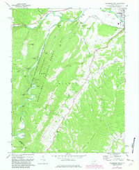Download a high-resolution, GPS-compatible USGS topo map for Petersburg West, WV (1982 edition)