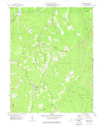 Download a high-resolution, GPS-compatible USGS topo map for Pickens, WV (1977 edition)