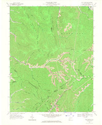 Download a high-resolution, GPS-compatible USGS topo map for Pilot Knob, WV (1971 edition)