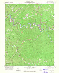 Download a high-resolution, GPS-compatible USGS topo map for Pineville, WV (1971 edition)