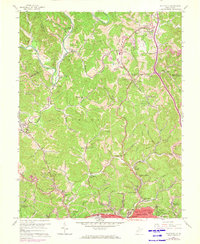 Download a high-resolution, GPS-compatible USGS topo map for Pocatalico, WV (1973 edition)