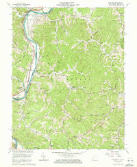 Download a high-resolution, GPS-compatible USGS topo map for Prichard, WV (1972 edition)