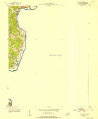 Download a high-resolution, GPS-compatible USGS topo map for Prichard, WV (1954 edition)