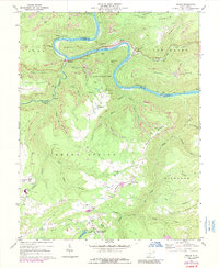 Download a high-resolution, GPS-compatible USGS topo map for Prince, WV (1989 edition)