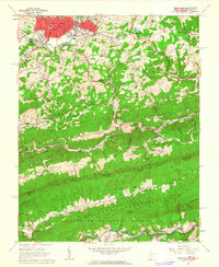 Download a high-resolution, GPS-compatible USGS topo map for Princeton, WV (1963 edition)