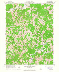 Download a high-resolution, GPS-compatible USGS topo map for Pullman, WV (1966 edition)