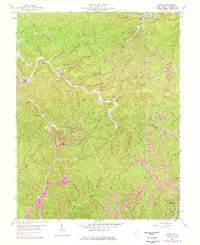 Download a high-resolution, GPS-compatible USGS topo map for Quick, WV (1977 edition)