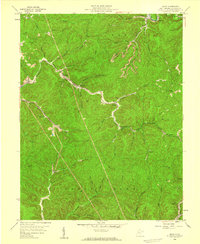 Download a high-resolution, GPS-compatible USGS topo map for Quick, WV (1959 edition)