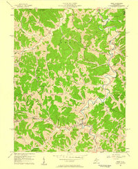 Download a high-resolution, GPS-compatible USGS topo map for Reedy, WV (1959 edition)