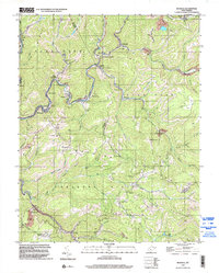 Download a high-resolution, GPS-compatible USGS topo map for Rhodell, WV (2003 edition)
