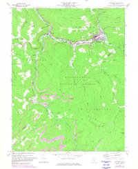 Download a high-resolution, GPS-compatible USGS topo map for Richwood, WV (1982 edition)