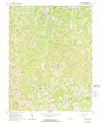 Download a high-resolution, GPS-compatible USGS topo map for Rosedale, WV (1991 edition)