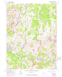 Download a high-resolution, GPS-compatible USGS topo map for Rosemont, WV (1978 edition)
