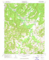 Download a high-resolution, GPS-compatible USGS topo map for Rupert, WV (1974 edition)