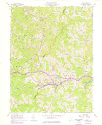 Download a high-resolution, GPS-compatible USGS topo map for Salem, WV (1977 edition)