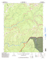 Download a high-resolution, GPS-compatible USGS topo map for Samp, WV (1998 edition)