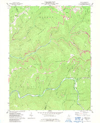 Download a high-resolution, GPS-compatible USGS topo map for Samp, WV (1989 edition)
