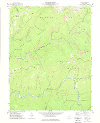 Download a high-resolution, GPS-compatible USGS topo map for Samp, WV (1977 edition)