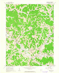 Download a high-resolution, GPS-compatible USGS topo map for Sandyville, WV (1963 edition)