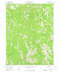 Download a high-resolution, GPS-compatible USGS topo map for Schultz, WV (1974 edition)
