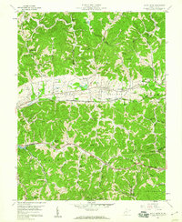 Download a high-resolution, GPS-compatible USGS topo map for Scott Depot, WV (1960 edition)