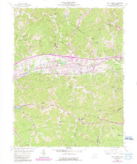 Download a high-resolution, GPS-compatible USGS topo map for Scott Depot, WV (1989 edition)
