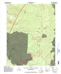 Download a high-resolution, GPS-compatible USGS topo map for Sharp Knob, WV (1998 edition)