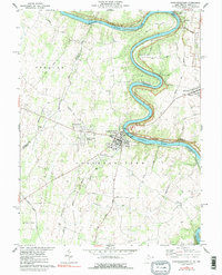 Download a high-resolution, GPS-compatible USGS topo map for Shepherdstown, WV (1991 edition)