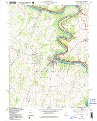 Download a high-resolution, GPS-compatible USGS topo map for Shepherdstown, WV (1999 edition)