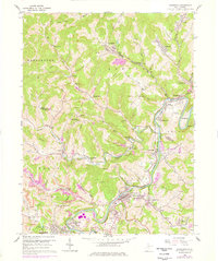 Download a high-resolution, GPS-compatible USGS topo map for Shinnston, WV (1978 edition)