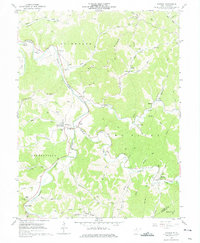 Download a high-resolution, GPS-compatible USGS topo map for Shirley, WV (1975 edition)