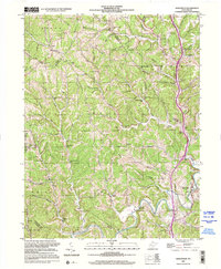 Download a high-resolution, GPS-compatible USGS topo map for Sissonville, WV (2001 edition)