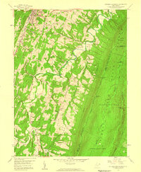 Download a high-resolution, GPS-compatible USGS topo map for Stotlers Crossroads, WV (1959 edition)