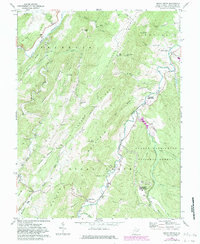 Download a high-resolution, GPS-compatible USGS topo map for Sugar Grove, WV (1983 edition)