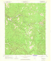 Download a high-resolution, GPS-compatible USGS topo map for Swandale, WV (1968 edition)