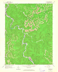 Download a high-resolution, GPS-compatible USGS topo map for Sylvester, WV (1966 edition)